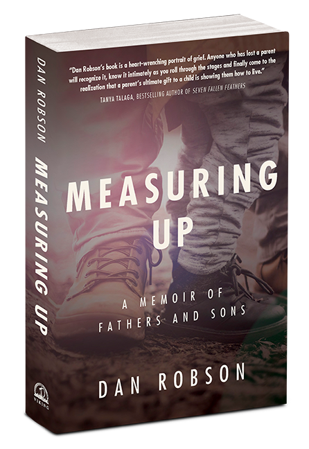 Measuring Up book cover 3D